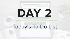 Day 2: To Do List
