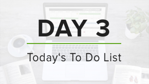 Day 3: To Do List