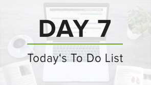 Day 7: To Do List