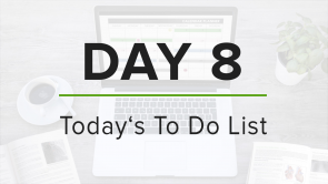 Day 8: To Do List