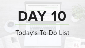 Day 10: To Do List