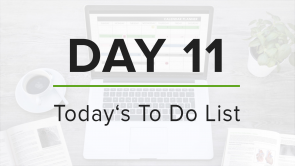 Day 11: To Do List