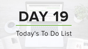 Day 19: To Do List