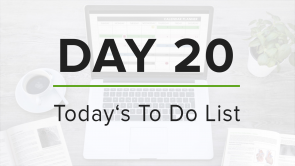Day 20: To Do List