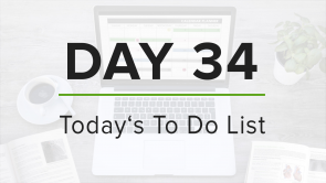 Day 34: To Do List