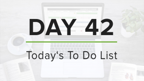 Day 42: To Do List