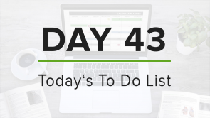 Day 43: To Do List