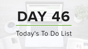 Day 46: To Do List