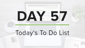 Day 57: To Do List