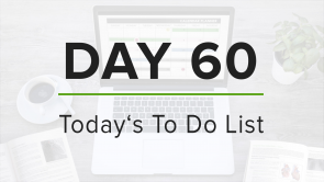 Day 60: To Do List