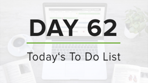 Day 62: To Do List