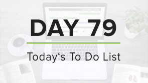 Day 79: To Do List