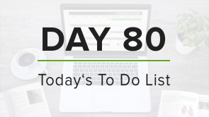 Day 80: To Do List