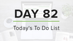 Day 82: To Do List