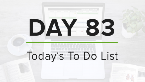 Day 83: To Do List