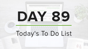 Day 89: To Do List