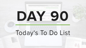 Day 90: To Do List
