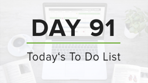 Day 91: To Do List