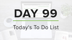Day 99: To Do List