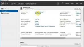 Installieren von Windows Server 2016 als Host und in einer Serverumgebung