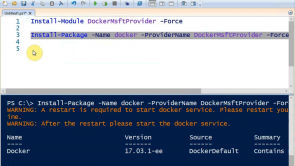Einrichten von Windows-Containern