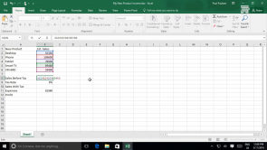 Performing Calculations in Excel 2016 (EN)