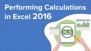 Performing Calculations in Excel 2016 (EN)