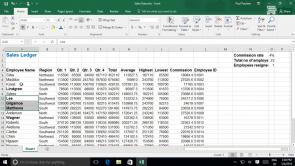 Formatting a Worksheet in Excel 2016 (EN)