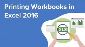 Printing Workbooks in Excel 2016 (EN)