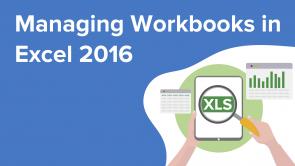 Managing Workbooks in Excel 2016 (EN)