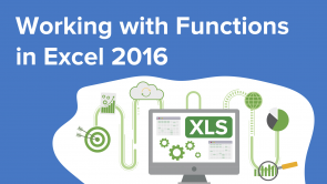 Working with Functions in Excel 2016 (EN)