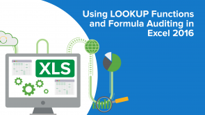 Using LOOKUP Functions and Formula Auditing in Excel 2016 (EN)