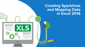 Creating Sparklines and Mapping Data in Excel 2016 (EN)