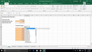 Forecasting Data in Excel 2016 (EN)