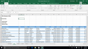 Excel 2016 - Advanced (EN)