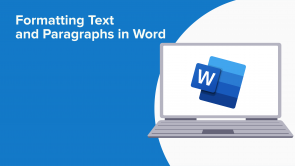 Formatting Text and Paragraphs in Word (EN)