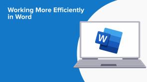 Working More Efficiently in Word (EN)