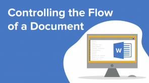 Controlling the Flow of a Document (EN)