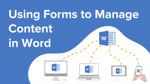 Using Forms to Manage Content in Word (EN)