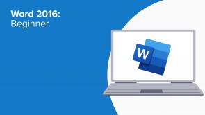 Word 2016: Beginner (EN)