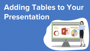 Adding Tables to Your Presentation (EN)