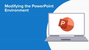 Modifying the PowerPoint Environment (EN)