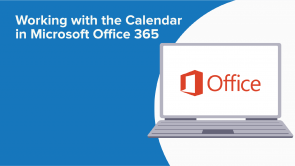 Working with the Calendar in Microsoft Office 365 (EN)