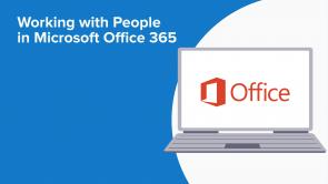Working with People in Microsoft Office 365 (EN)