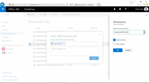Working with OneDrive in Microsoft Office 365 (EN)