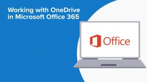 Working with OneDrive in Microsoft Office 365 (EN)