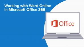 Working with Word Online in Microsoft Office 365 (EN)