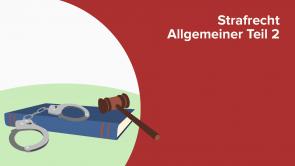 Strafrecht Allgemeiner Teil 2