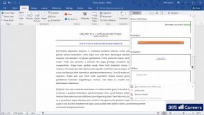 The Insert Tab of Microsoft Word (EN)