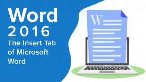 The Insert Tab of Microsoft Word (EN)
